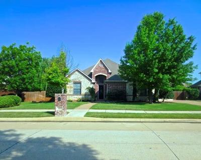 Keller Single Family Home Active Option Contract: 604 Uvalde Drive