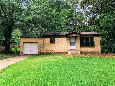 Tyler Single Family Home For Sale: 2302 Gish Lane
