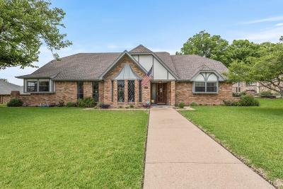 Rockwall Single Family Home Active Option Contract: 604 Forest Trace
