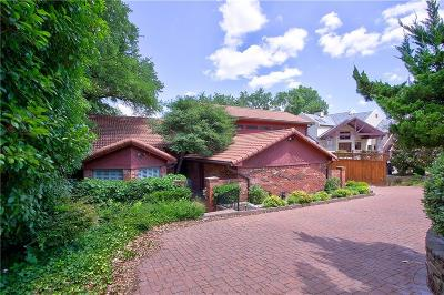 Single Family Home For Sale: 10827 Stone Canyon Road