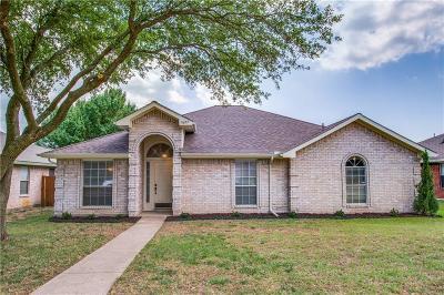 Cedar Hill Single Family Home Active Option Contract: 1627 High Pointe Lane