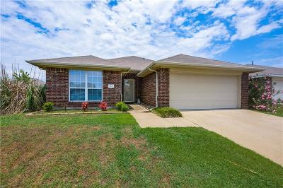 Terrell Single Family Home Active Option Contract: 110 Shady Creek Lane