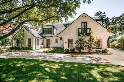 Dallas  Residential Lease For Lease: 6018 Meadow Road