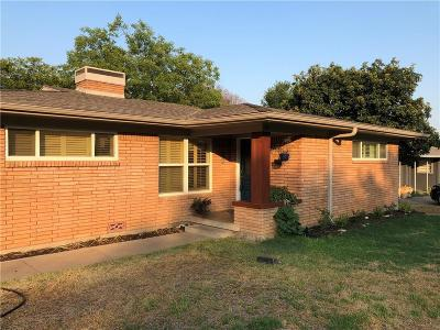 Fort Worth Single Family Home For Sale: 4005 Shannon Drive