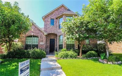 Allen Single Family Home Active Contingent: 909 Panther Lane