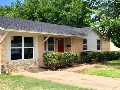 Blue Mound Single Family Home Active Option Contract: 1617 Tyson Street