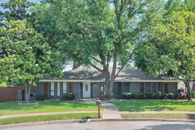 Plano Single Family Home Active Option Contract: 1816 Mercedes Place
