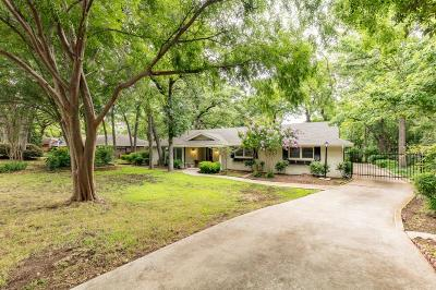 Euless Single Family Home For Sale: 1101 Driftwood Drive