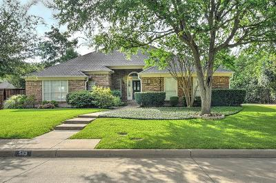 Mira Vista, Mira Vista Add, Trinity Heights, Meadows West, Meadows West Add, Bellaire Park, Bellaire Park North Single Family Home For Sale: 5113 N Branch Drive