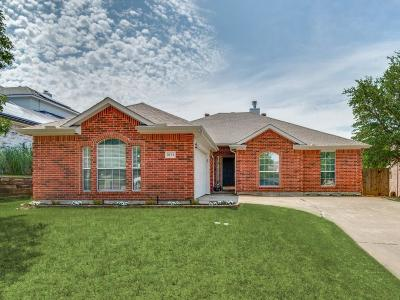 Sachse Single Family Home Active Option Contract: 3711 Potomac Drive