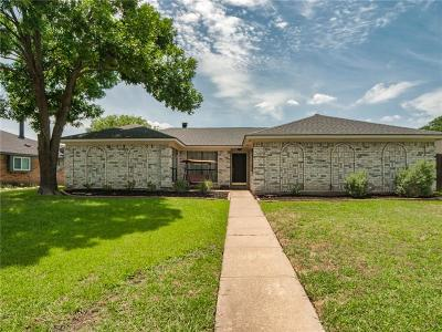 Plano Single Family Home Active Option Contract: 6633 Belcamp Drive