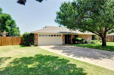 Hurst Single Family Home Active Option Contract: 120 Brazil Court
