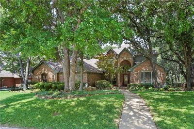 Flower Mound Single Family Home For Sale: 1809 Woodland Boulevard