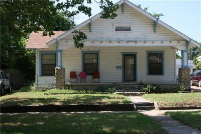 Mineral Wells TX Single Family Home For Sale: $70,000