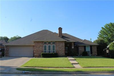 Bedford Single Family Home Active Option Contract: 1517 Wimberly Court