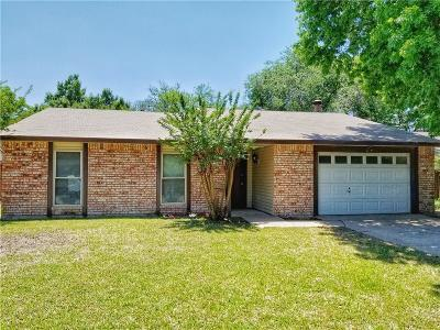 Garland Single Family Home Active Contingent: 4210 Martindale Drive