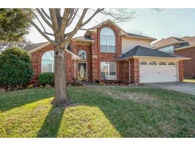 Euless Single Family Home Active Option Contract: 402 Lexington Lane