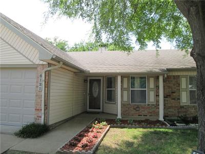 Haltom City Single Family Home Active Option Contract: 6121 Maurie Court