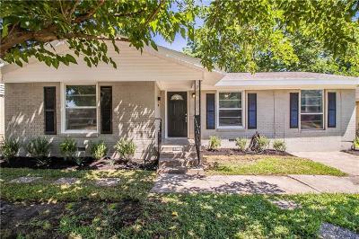 Mesquite Single Family Home For Sale: 1602 Rosemont Street