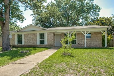 Garland Single Family Home Active Option Contract: 1949 Northlake Drive