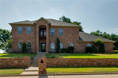 Azle Single Family Home For Sale: 1832 Spinnaker Lane