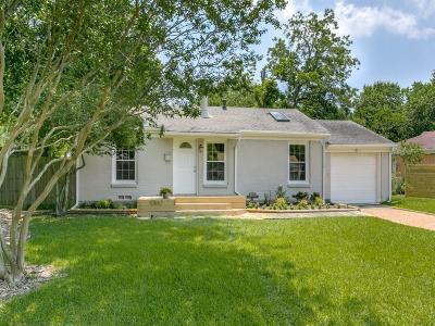 Dallas Single Family Home For Sale: 10652 Cayuga Drive