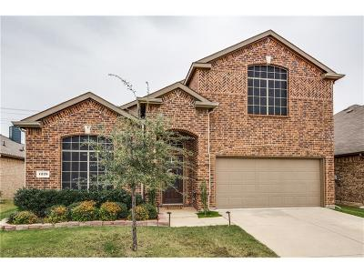 Little Elm Single Family Home For Sale: 1229 Lone Pine Drive