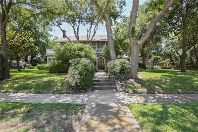 Garland Single Family Home For Sale: 920 W Avenue D
