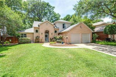 Flower Mound Single Family Home Active Option Contract: 2621 Misty Glen Drive
