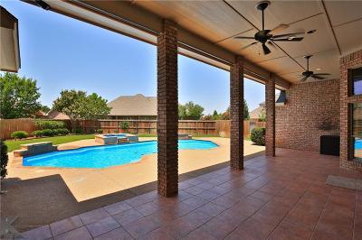 Abilene Single Family Home For Sale: 1207 Saddle Lakes Drive