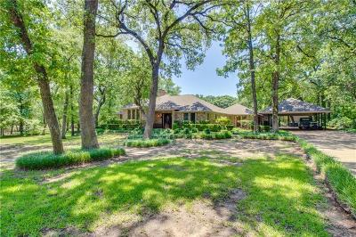 Seagoville Single Family Home Active Option Contract: 450 Rustic Oaks Road