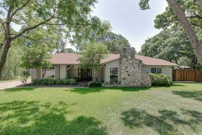 Colleyville Single Family Home Active Option Contract: 5213 Coventry Court