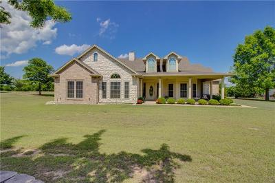 Waxahachie Single Family Home Active Option Contract: 1030 N Oak Branch Road