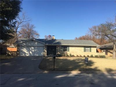 Grapevine Single Family Home Active Option Contract: 2916 Columbine Drive