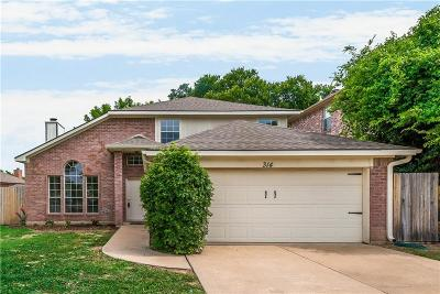 Mckinney Single Family Home Active Option Contract: 314 Bridlegate Drive