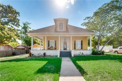 Weatherford Single Family Home Active Option Contract: 902 S Waco Street