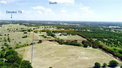 Decatur Farm & Ranch For Sale: Tract3 County Road 2175