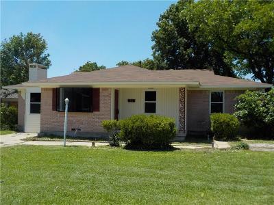 Mesquite Single Family Home For Sale: 1433 Andrew Street