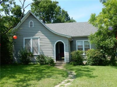 Denison Single Family Home For Sale: 811 W Morton Street