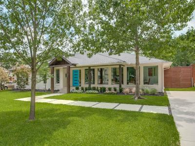 Single Family Home Active Kick Out: 7130 Northaven Road
