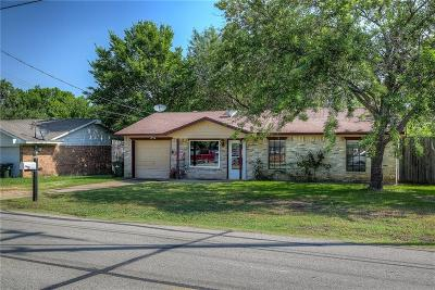 Seagoville Single Family Home Active Option Contract: 507 S Kaufman Street