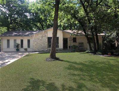 Azle Single Family Home Active Option Contract: 128 Skylark Drive