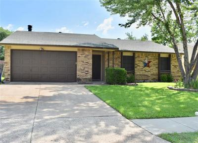 Forney Single Family Home Active Option Contract: 506 Woodcrest Way