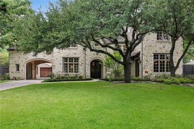 Dallas  Residential Lease For Lease: 10842 Camellia Drive