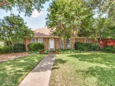 Carrollton Single Family Home For Sale: 2728 Timberleaf Place