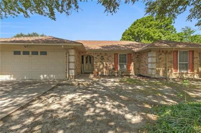 Benbrook Single Family Home Active Option Contract: 9900 Westpark Drive