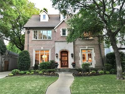 Highland Park Single Family Home For Sale: 4417 Southern Avenue