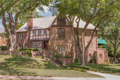 Dallas Single Family Home For Sale: 1122 N Montclair Avenue