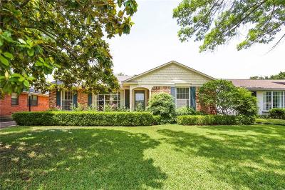 Single Family Home Active Option Contract: 10019 Parkford Drive