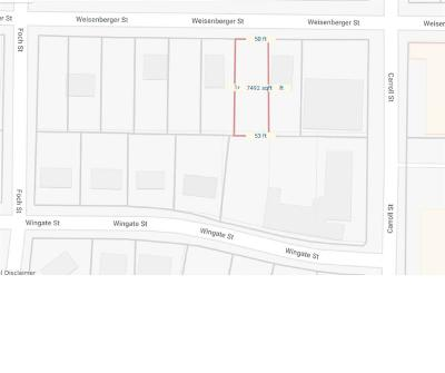 Fort Worth Residential Lots & Land For Sale: 2713 Weisenberger Street